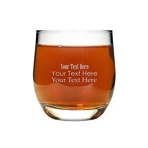 TUFF LUV Personalisiert Original Utopia 'Bolero' Tumbler - Whisky Glas, Snifter, Whiskybecher 27cl (9.5oz)