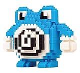 Figura di Pokemon Poliwhirl da montare con mini blocchi. 325 mattoncini in miniatura.