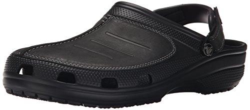 crocs Herren Yukonmesaclog Clogs, Schwarz (Black/Black), 43/44 EU