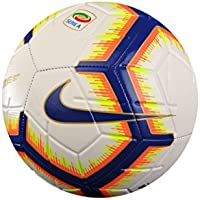 Nike Serie a Strike – Balón de fútbol Unisex, Color Blanco/Bright Mango/Royal Blue, 5