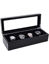 Tang, Uhrenbox L, schwarz schwarz