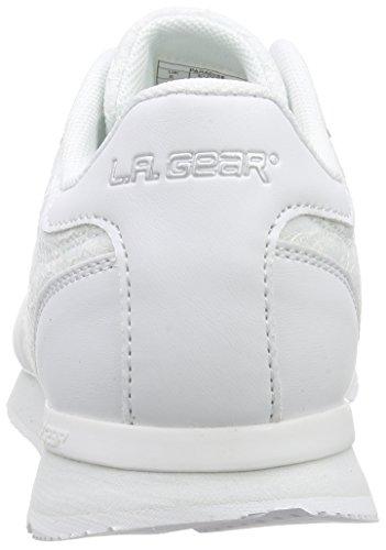L.A. Gear Paradise Damen Sneakers Weiß (Offf White 05)