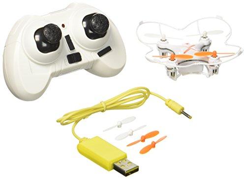 Air Raiders 80079, Discovery Drone de 4 Canales y Hélices Protegidas, color Blanco