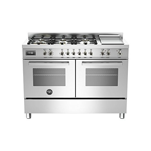 Bertazzoni Küche Professional pro1206gmfedvit 120cm 2Öfen Edelstahl