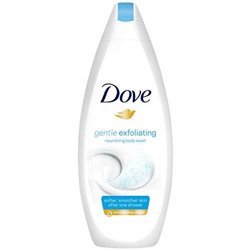 DoveGentle Exfoliating Body Wash, 250 ml