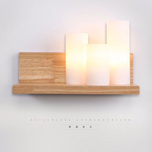 VanMe Soggiorno Idee Registro Rack Parete Camera Da Letto Art Deco Lampada Da Parete 20*12Cm,Senza Lampadine