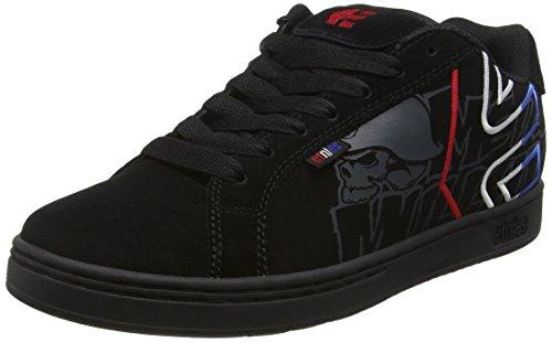 Etnies Herren Metal Mulisha Fader Skateboardschuhe Black (Black/Blue/White589)