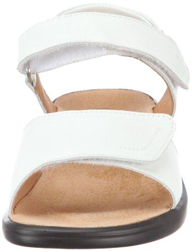 Ganter Sonnica Weite E 3-202857-02000, Sandales femme Blanc