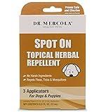 Dr Mercola - Natürlich Flöhe & Zecke Spot On Aktuell Kräuter- Insektenschutz Für Hunde & Puppies