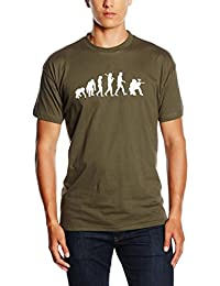 PAINTBALL EVOLUTION achtung attention GOTCHA PAINTBALL T-Shirt S-XXL