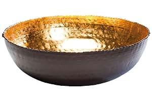 Kare Designs Saladier rond  intérieur doré 28 cm