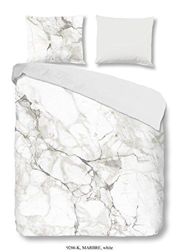 descanso-9286-k-155cm-bettwasche-marmor-100-baumwolle-satin-weiss-200-x-155-x-05-cm