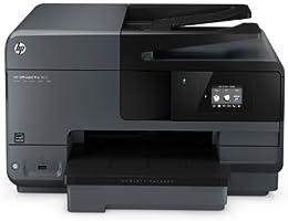 HP Officejet Pro 8610 All-in-One Multifunktionsdrucker (A4, Drucker, Kopierer, Scanner, Fax, Wlan, Duplex, USB, 4800 x 1200) schwarz