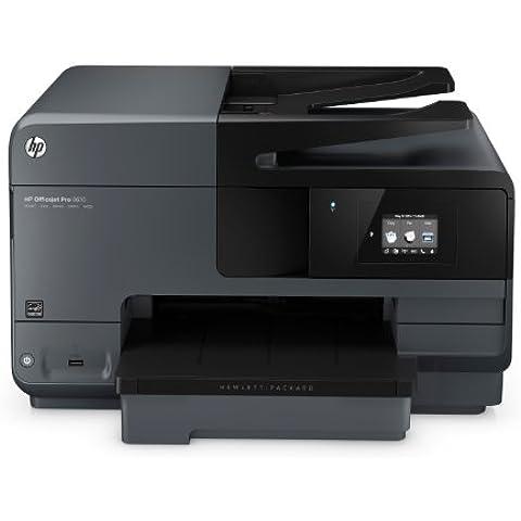 HP Officejet Pro 8610 - Impresora multifunción de tinta - B/N 13 PPM, color 11 PPM, negro
