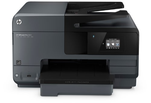 HP Officejet Pro 8610 All-in-One Multifunktionsdrucker (Drucker, Kopierer, Scanner, Fax, Wlan, Duplex, USB, 4800 x 1200 dpi) schwarz