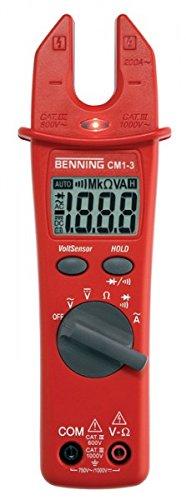 Digital-Stromzangen-Multineter BENNING CM 1-3