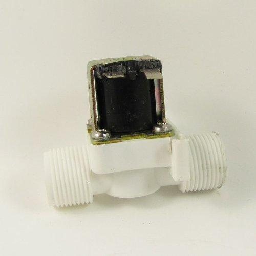 """Preisvergleich Produktbild 3/4 """"BSPP 12V DC 2-Wege-Wasser-Luft-Gas Nylon Kunststoff Magnetventil Normal Geschlossen"""