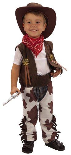 Toddler Boy Girl Cowboy Cow Hand Wild West Fancy Dress Up Costume 2 3 Under 4 yr by ()