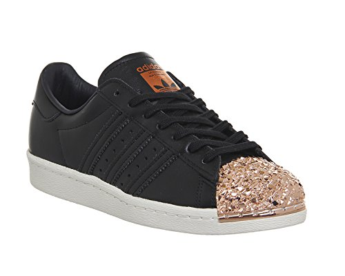 Adidas Superstar 80s Metal Toe TF W, core black/core black/copper metallic core black/core black/copper metallic
