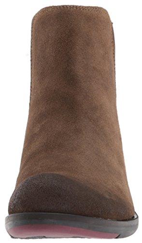 FLY London Damen Make Chelsea Boots Braun (Sludge)