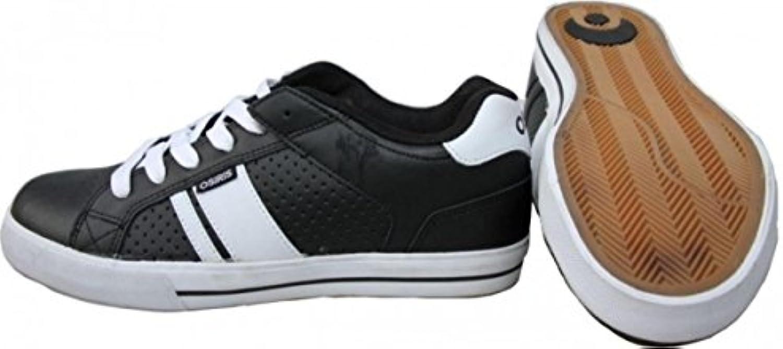 Osiris Skateboard Schuhe Duece Black/White Sneaker Shoes