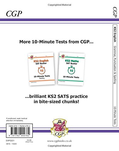 New KS2 English SAT Buster 10-Minute Tests: 2016 SATs & Beyond