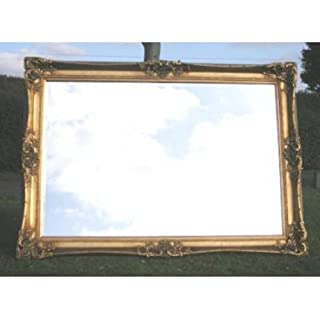 Ayers and Graces Huge Gold Gilt Heavily Ornate Monaco Mirror (7ft x 5ft)