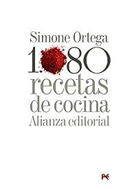 1080 recetas de cocina par Simone Ortega