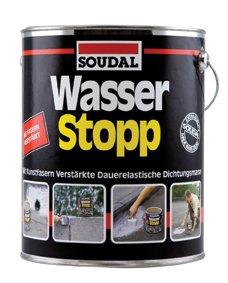 SOUDAL WASSER- STOPP | Schnell Reparatur | Farbe: GRAU (750 Gramm) (Abdichten Sofortige)