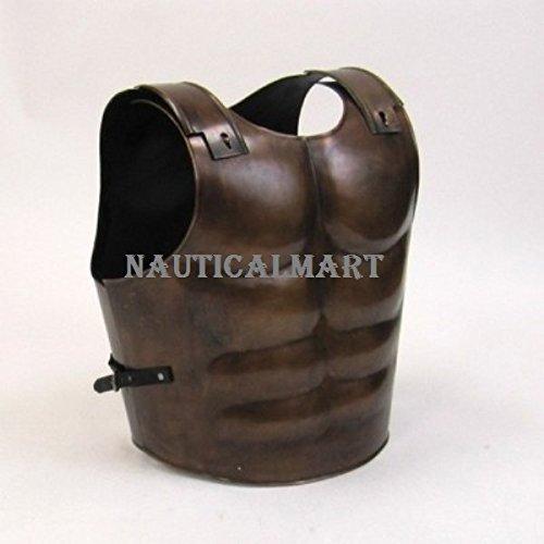 essing römischen Muscle Geschirr CUIRASS Mittelalter Armor Spartan (Antike Römische Kostüme Für Kinder)