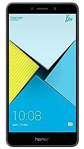 Honor 6X Smartphone portable débloqué 4G (Ecran: 5,5 pouces - 32 Go - emplacement de carte 2-en-1 - Android 6.0 Marshmallow) Gris