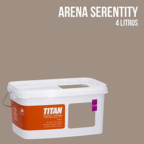 Pintura Colores Titan Edición Limitada - Arena Serenity 4 L