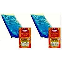 M&H-24 2 Stück Wärmekompressen - Kältekompressen 29 x 12 cm + 2 Wärmeplaster preisvergleich bei billige-tabletten.eu