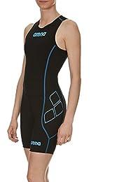 Arena triathlon combinaison de triathlon pour femme fermeture powerskin sT
