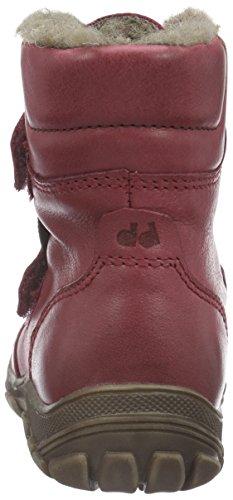 FRODDO Froddo Girls Kids Boots Waterproof, Bottes mi-hauteur avec doublure chaude fille Rouge - Bordeaux