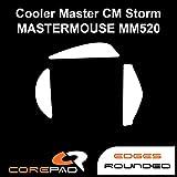 Corepad Skatez - Patins Teflon - Souris Pieds - Pro 127 - Cooler Master CM MasterMouse MM520