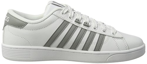K-Swiss Hoke Cmf, Baskets Basses Homme Noir (White/wild Dove)