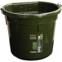 Cubo para agua o comida FlatBack aprox. 20 l, verde