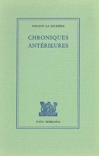 Chroniques antérieures