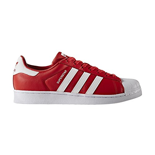 adidas Originals Superstar Weave, Sneakers basses mixte adulte Rouge