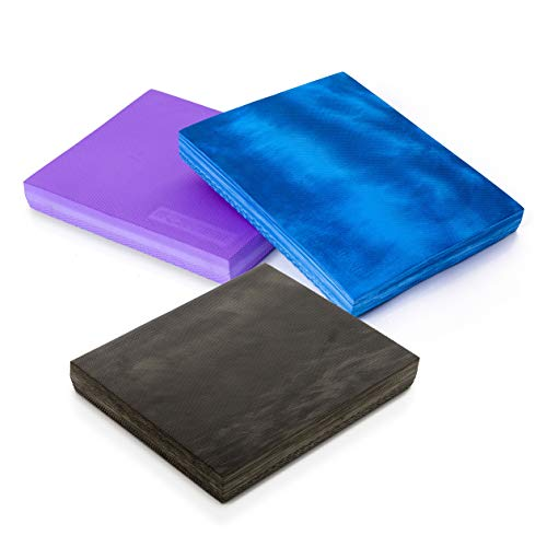 Sport-Thieme Balance-Pad Premium | Rutschfestes u. Formstabiles Balance-Kissen, Pilates-Pad mit Perfekter Dämpfung | In DREI Farben | 50x40x6 cm | Spezialschaumstoff | 90 g | Markenqualität