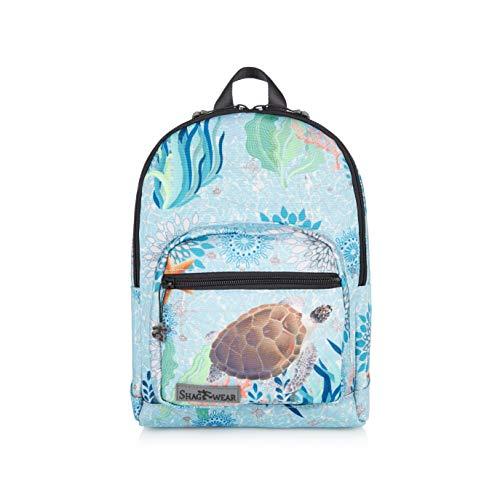 Koopa Kostüm - Shagwear Kinder Rucksack mit Tiermotiv, Klassische Form, für Schüler/Studenten/Kinder, Tasche für Schule/Picknick/Reisen (Schildkröte/Turtle)