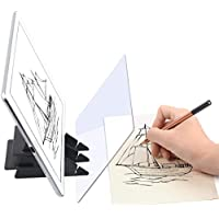 لوحة رسم ذاتية الصنع، لوحة رسم بصرية، لوحة رسم ساحرة، رسم تتبع سهل، أداة رسم، لوحة رسم رسم، لوحة رسم للتتبع، مجموعة رسم فنية للأطفال والمبتدئين.