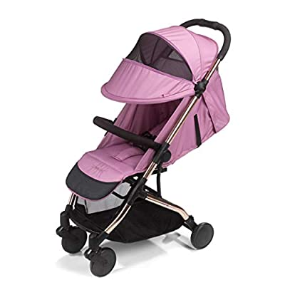 Mee-go Trio Travel Stroller Pushchair, Orchid