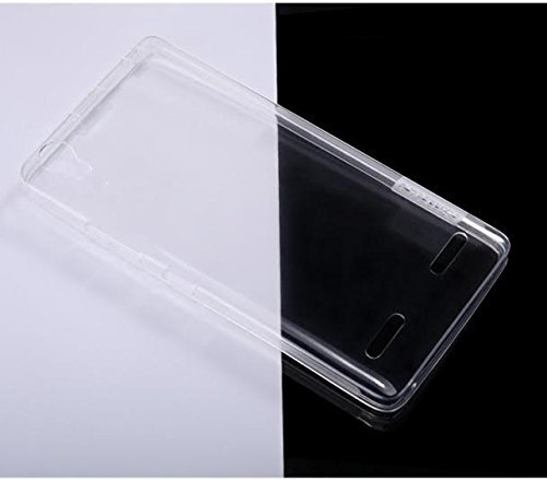 Nillkin 0.6mm Ultra-Thin Flexible TPU Transparent Nature Clear Back Case Cover For Lenovo A6000 4G with Front Screen Guard -- Clear