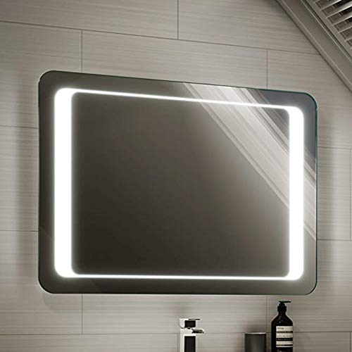 Inteligente antiniebla baño Espejo gabinete con luz led música de Bluetooth Espejo montado en la Pared...