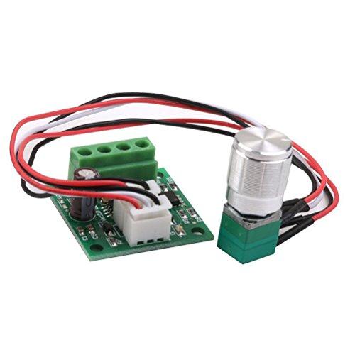 ROSENICE DC Regolatore di Velocità del Motore PWM Regolabile 1.8V 3V 5V 6V 12V 2A