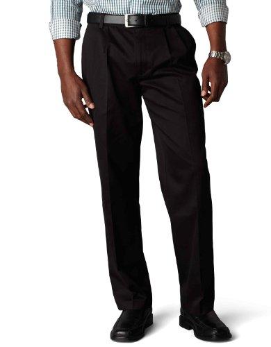 Herren Dockers-style Hose (Dockers Herren Anzughose, Durchgehend Opaque Gr.  x mm, Black (Cotton)-discontinued)
