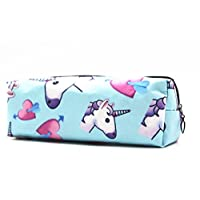 Turquoise Gates Oxford Emoji Pencil Bags Pencil Box Organiser for Game Room Kosmetischer Bag Make Upkasten of Girl
