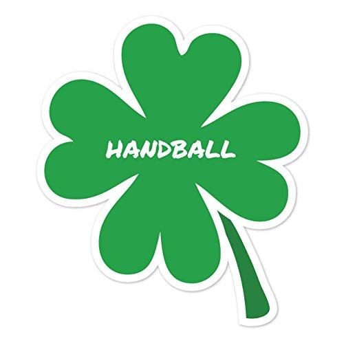 JOllify Aufkleber - Handball - Farbe: Design: Kleeblatt